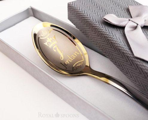 Teaspoon with name