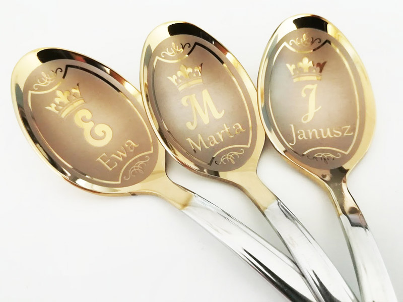 Teaspoons with name
