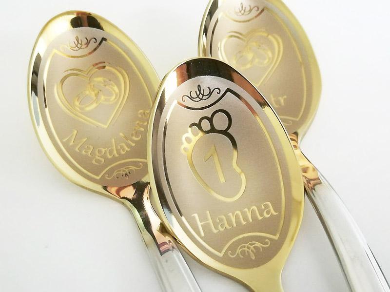 Custom teaspoons
