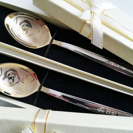 Wedding teaspoons