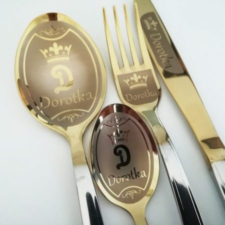 Custom flatware with name