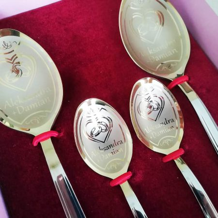 Small wedding cutlery set