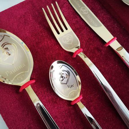 Wedding cutlery set