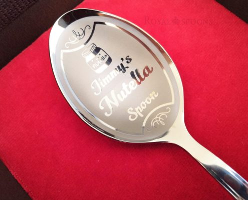 Nutella spoon for a Nutella killer