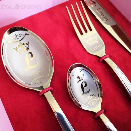 Flatware with name
