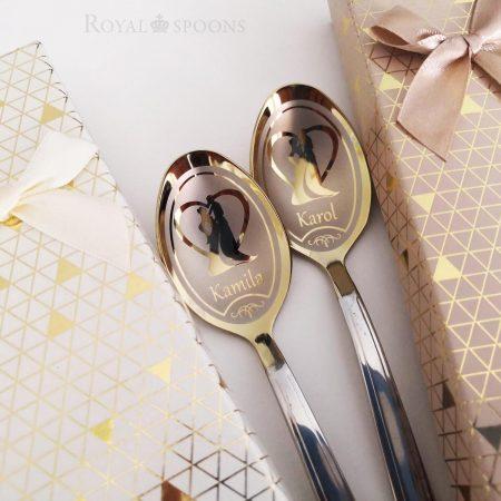 Wedding teapoons