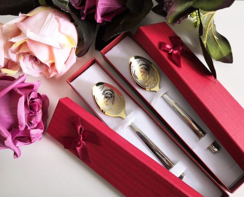Wedding teaspoons